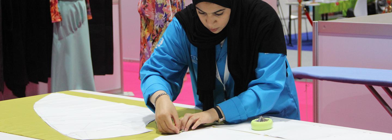Emirates Skills 2017 Gold Medal Hessa Al Shawab